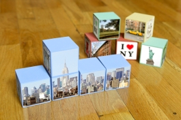 Pre-designed Set New York City Photo Blocks YoBlocks